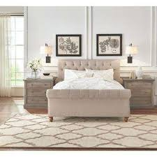 Brilliant King Size Bed Headboard And Footboard With King Headboards  Footboards Bedroom Furniture The Home Depot