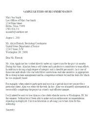 Employer Recommendation Letter Sample T Reference Letter Samples Law School Recommendation Sample