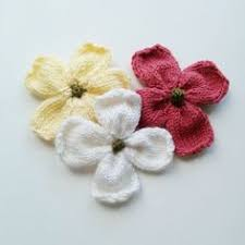 Knitted Flower Pattern Classy Ravelry Simple Knitted Flower Pattern By Paulette Lane Pretty And
