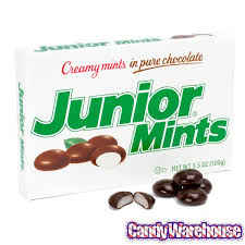 mint chocolate candy brands. Unique Mint Junior Mints Candy 35Ounce Packs 12Piece Box Intended Mint Chocolate Brands S