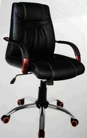 contemporary leather high office chair black. Contemporary Black Simulated Leather Swivel Home Office Chair High O