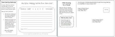 Postcard And Comment Card Templates For Residential Cleaning Companies