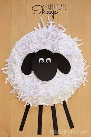 easy easter crafts for two year olds. 40+ simple easter crafts for kids - paper plate sheep craft easy two year olds r