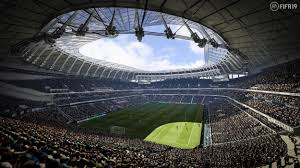 It has a capacity of 62,062, making it one of the largest stadiums in the premier league and the largest club stadium in london. Fifa 19 News New Tottenham Stadium Shown On Upcoming Release As Ea Sports Reveal Latest Look At Completed Spurs Home London Evening Standard Evening Standard