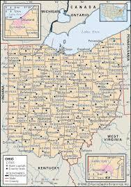 state and county maps of ohio Monroe County Ohio Road Map maps of ohio maps of ohio road map of monroe county ohio