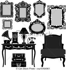 antique frame drawing. Antique Picture Frame - Csp10164961 Antique Frame Drawing X