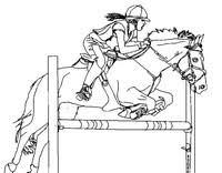 Disegni Da Colorare Per Adulti Cavalli