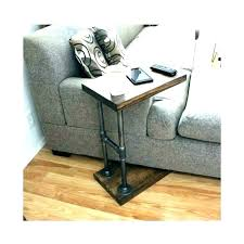 wooden sofa table couch armrest chair stand over the arm side large size of legs wooden sofa table