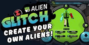 alien glitch ben 10