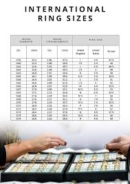 Ted Baker London Men S Size Chart The Ring Size A Guide To Finding The Perfect Size Chapelle