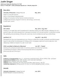 plain text resume template  foodcity.me