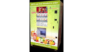 Vending Machine Canada Inspiration TropifruitUS Introduces Smoothie Vending Machine VendingMarketWatch