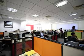 software company office. Office - Global Edge Software Bengaluru (India) Company