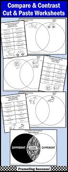 17 best ideas about compare and contrast examples compare and contrast worksheets venn diagram activities for literacy centers