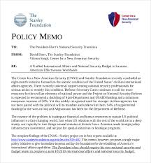 Budget Memo Templates Policy Memo Templates 100 Free Word PDF Documents Download Free 2