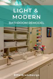 Meldrum Design The Kids Bathroom Was Given New Fixtures And Finishes And