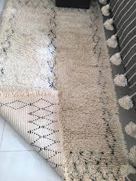 black and cream rug. Beni Ourain Rug, Black ∧ Cream Moroccan Wool Rug \u2013 195 X 110cm And