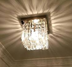 flushmount crystal lighting hallway crystal chandelier 1 light mini modern square flush mount flush mount crystal chandelier home depot flush mount crystal