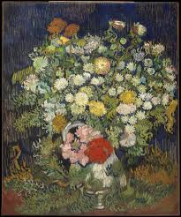 <b>Vincent</b> van Gogh | Bouquet of <b>Flowers</b> in a Vase | The Met