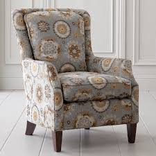 Blue And Brown Accent Chair Comfortable Accent Chair Design For Best Home Decoration