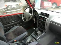 Charcoal Interior 1998 Chevrolet Tracker Soft Top 4x4 Photo ...
