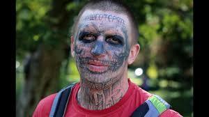 воронежец набил татуировку черепа на всё лицо новости воронежа