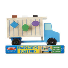 melissa and doug shape sorting dump truck