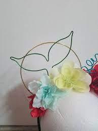 ariel wire mickey ears disney minnie