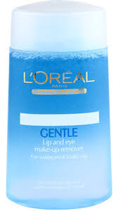 loreal paris gentle lip and eye makeup remover 125 ml up
