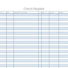 Printable Bank Register Check Register Running Balance Template Archives Konoplja
