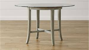 halo grey round dining table with 48 glass top in tables throughout prepare 19