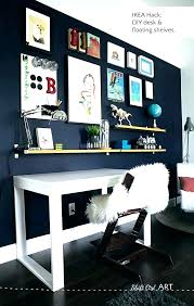 ikea office shelving. Ikea Office Shelving Shelves Above Desk Over Unit Blue Wall Tween . H