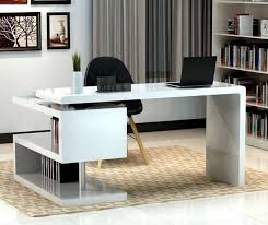 classy modern office desk home. Classy Modern Office Desk Home. Home Chairs White Furniture Pinterest Qtsi.co