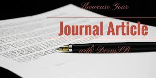 Journal Article Points Of The International Journal Research Article