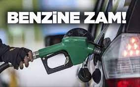 Benzine zam geldi