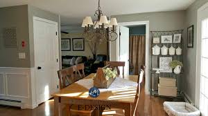 country farmhouse style dining room warm wood floor and furniture kylie m interiors e
