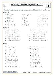 grade 8 math test with answers