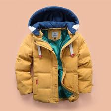 hooded boys winter jacket boys colorful outerwear coat children thick cotton down jacket cold winter