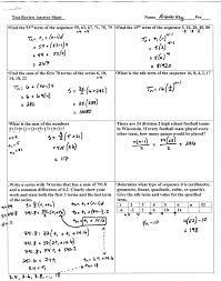 geometric sequences and series worksheet answers beautiful worksheet arithmetic sequence worksheet algebra 1 grass fedjp