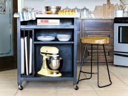 small kitchen island cart metal base