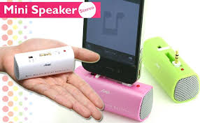 speakers for iphone. palm-size portable speaker works well with iphone 4 speakers for iphone i