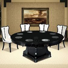 modern chinese hotel dining table round ovens wood furniture h021 engineering