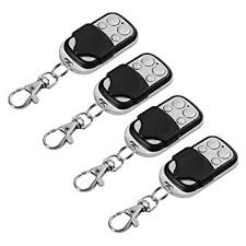 xcsource 4pcs electric cloning universal gate garage door opener remote control fob 433mhz replacement key fob