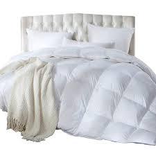 king call king size siberian goose down comforter duvet insert 1200 thread 100