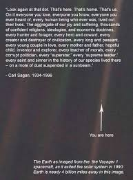 "Pale Blue Dot Quote Impressive Thoughts On Carl Sagan's ""Pale Blue Dot"" John Kary"