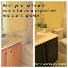 painting bathroom vanity before and after. how to paint your bathroom vanity painting before and after a