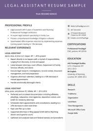 Legal Assistant Cover Letter Example Resume Genius