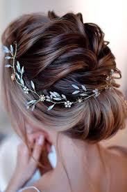 50 Coiffures De Mariage Chic Et élégant Pour Les Cheveux