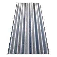 8 ft corrugated galvalume steel 26 gauge roof panel