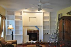 picture of install the fascia and bookcase casing